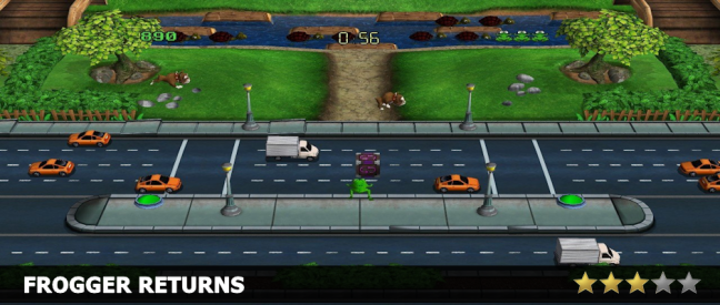 Frogger Returns Review