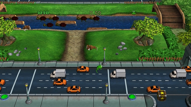 Frogger Returns Screenshot