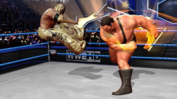 WWE Allstars Andre the Giant Screenshot