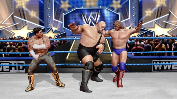 WWE Allstars Big Show Handicap Screenshot
