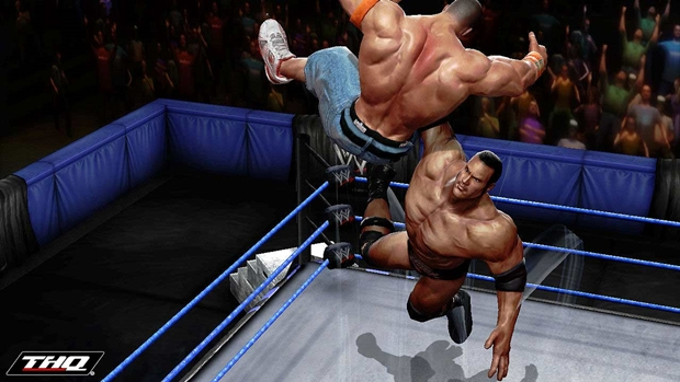 WWE All Stars The Rock Screenshot