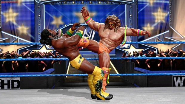 WWE All Stars Ultimate Warrior Screenshot
