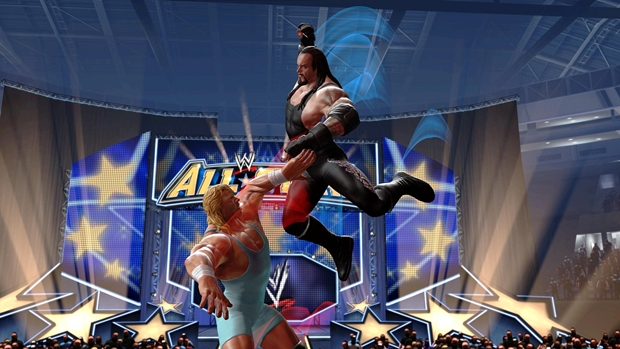 WWE Allstars Undertaker Screenshot