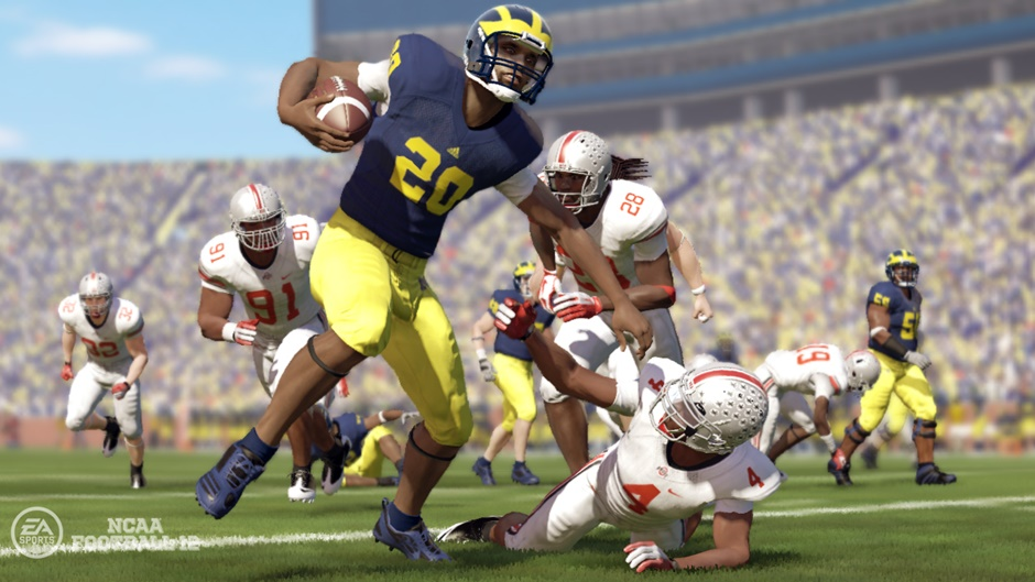 NCAA Football 12 Screenshot 01