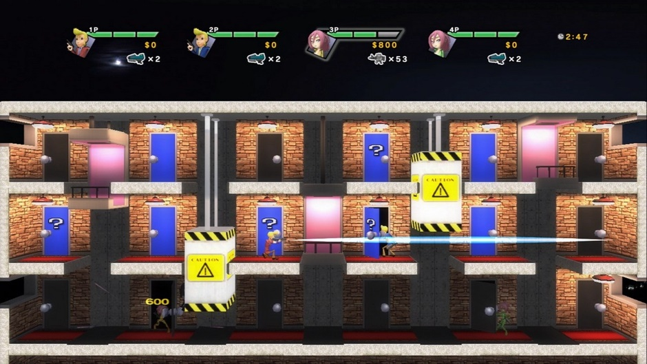 Elevator Action Deluxe Screenshot 01