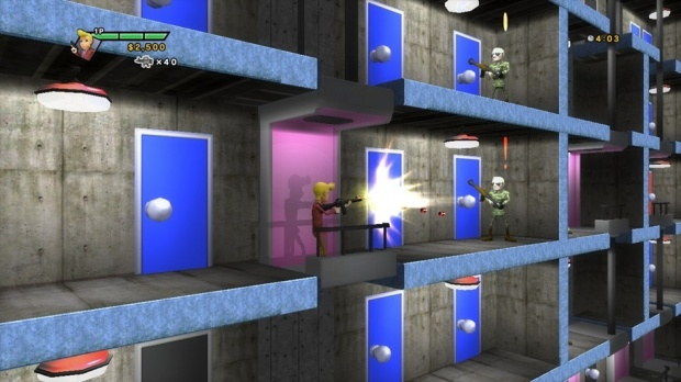 Elevator Action Deluxe Screenshot 02