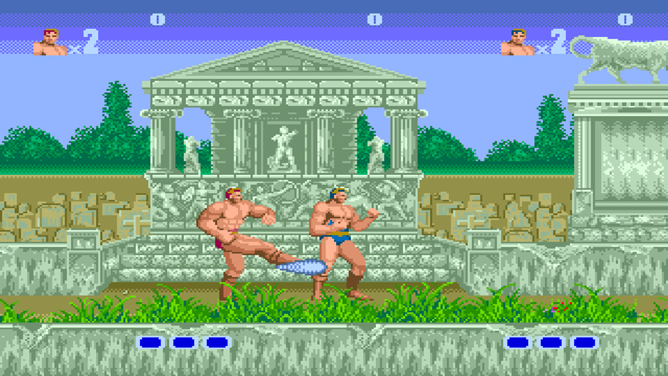 Altered Beast Screenshot 01