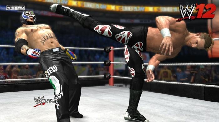 WWE '12 Screenshot 01