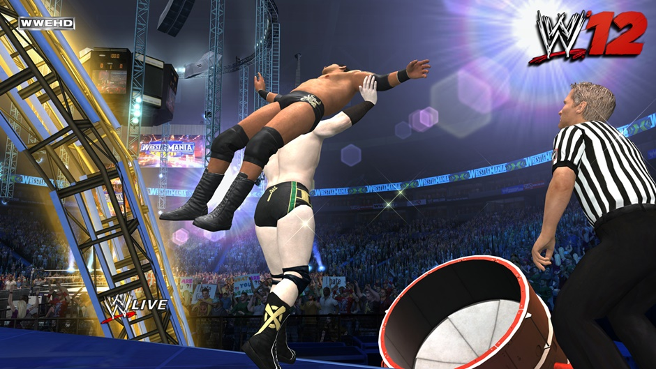 WWE '12 Screenshot 04