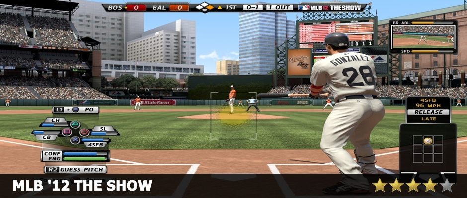 MLB 12 The Show Review