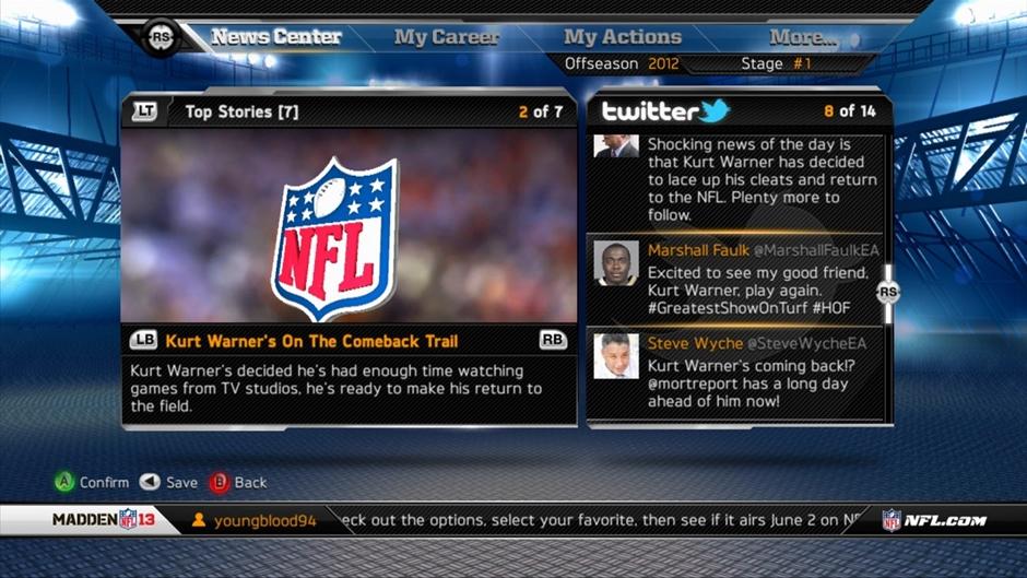 Madden NFL 13 Screenshot 06