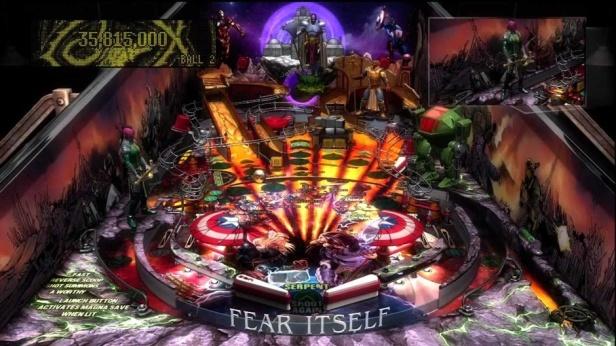 Fear Itself Pinball