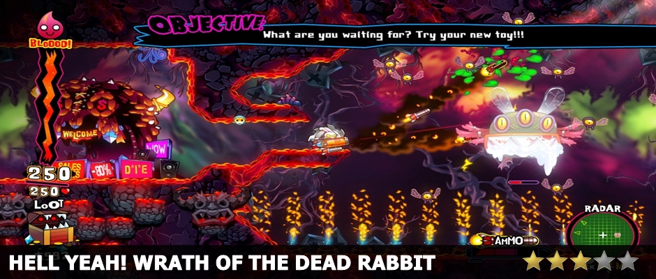 Hell Yeah Wrath of the Dead Rabbit Review