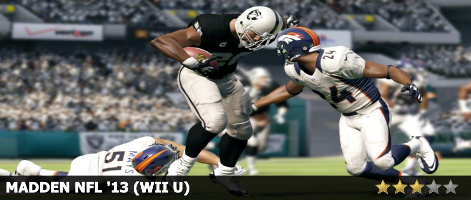 Madden NFL 13 Wii U Review