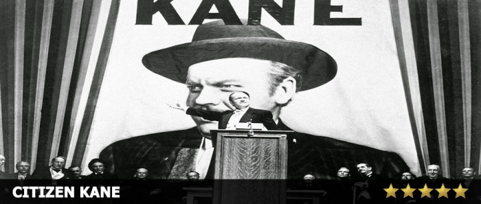Citizen Kane - 5 Stars