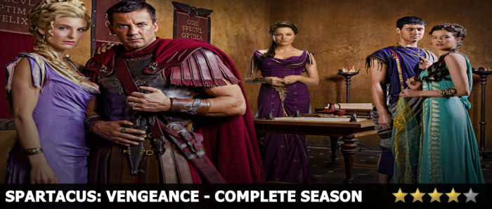 Spartacus Vengeance Complete Season Review