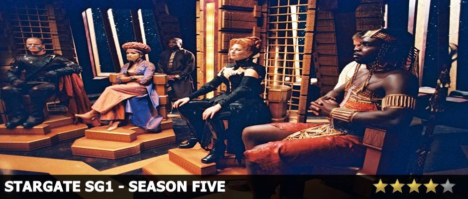 Stargate SG1 Season 5 Review