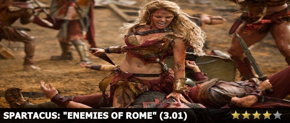 Spartacus Enemies of Rome Review