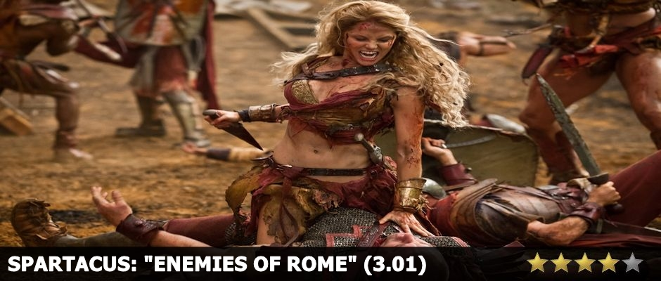 Spartacus Enemies of Rome Review
