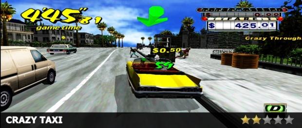 Crazy Taxi Review