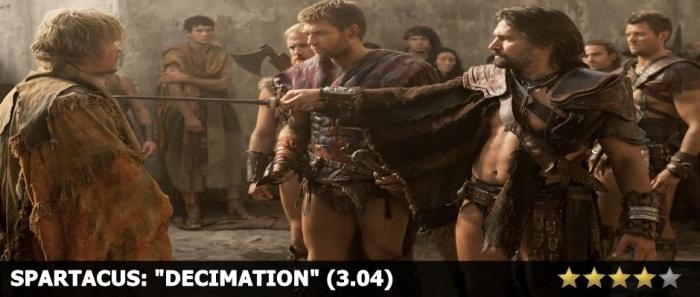 Spartacus Decimation Review