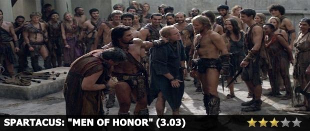 Spartacus Men of Honor Review