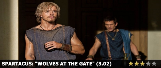 Spartacus Wolves at the Gate Review