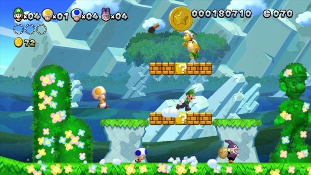 New Super Luigi U Screenshot 02