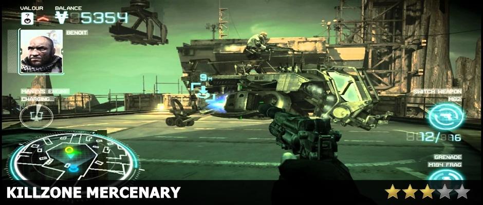 Killzone Mercenary Review