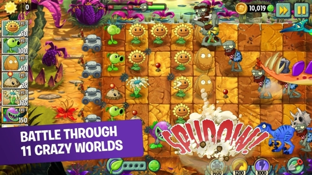 Plants vs. Zombies 2 Screenshot 01