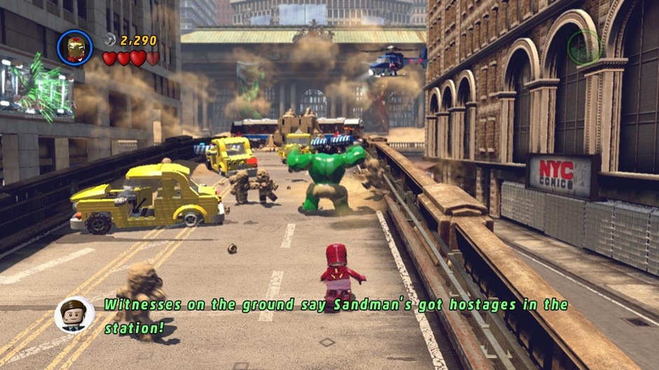 LEGO Marvel Superheroes Screenshot 01