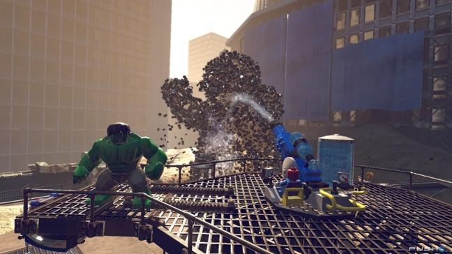 LEGO Marvel Superheroes Screenshot 02
