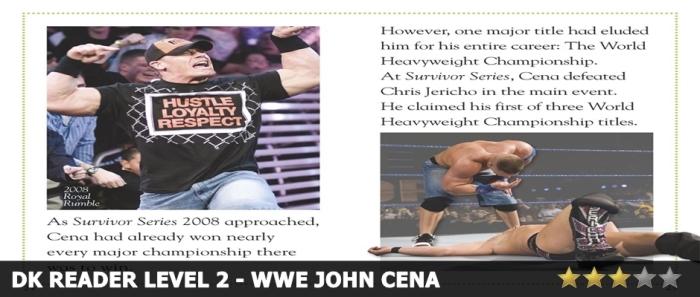 DK Reader 2 John Cena Review