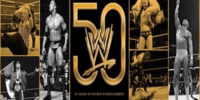 WWE 50 Book