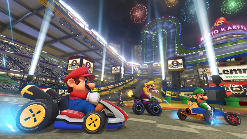 Mario Kart 8 Screenshot 01