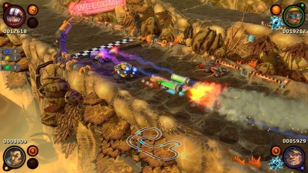 BlazeRush Screenshot 02