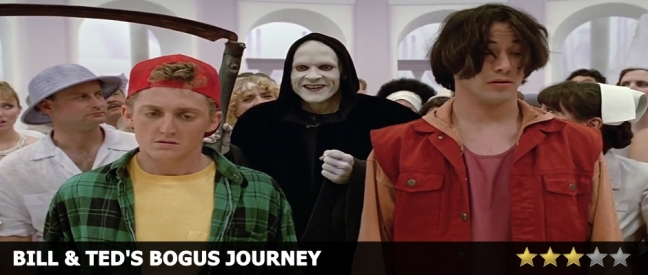 Bill and Ted's Bogus Journey Review