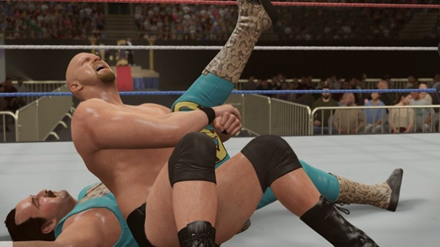 WWE 2K16 Steve Austin Screenshot