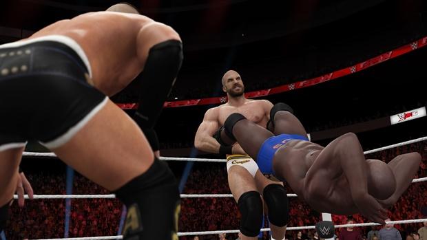 WWE 2K16 Cesaro Screenshot