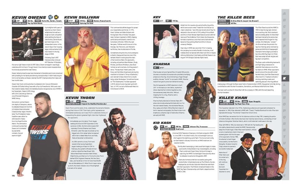 WWE Encyclopedia 3 Kevin Owens
