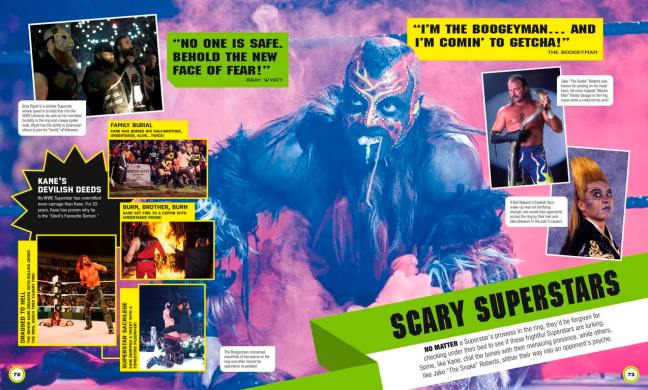 WWE Everything You Need to Know Scary Superstars