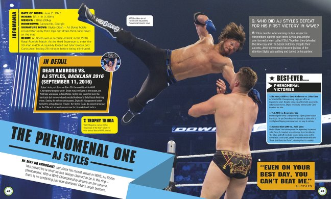 WWE Everything You Need to Know AJ Styles