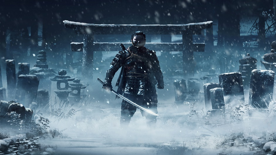 Ghost of Tsushima art