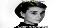 Top 5 Audrey Hepburn Films