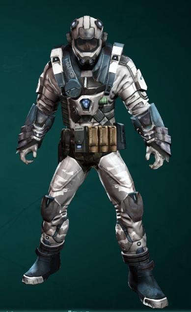 Ark Alliance Terranaut Outfit Defiance 2050