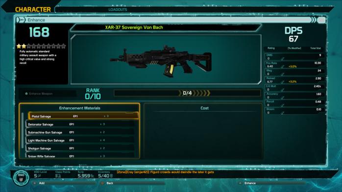 Defiance 2050 Enhance Guide Weapon 1