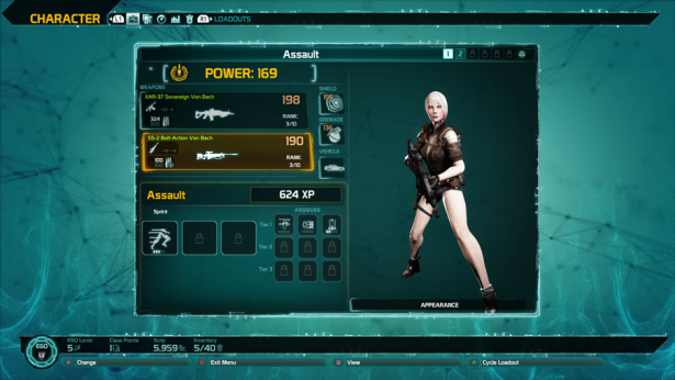 Defiance 2050 Enhance Guide Character