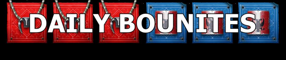 Destiny 2 Daily Bounties