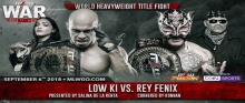 MLW War Games - Low Ki vs. Rey Fenix