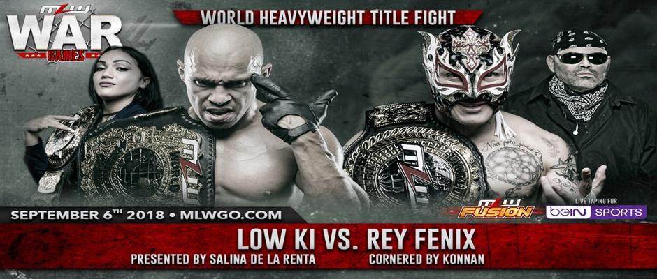 MLW War Games - Low Ki vs. Rey Fenix